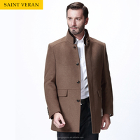 Classic man formal office fashion design winter coat.