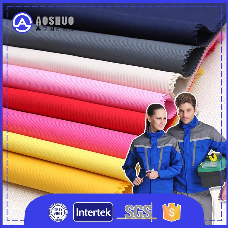 tc T60/C40 45*45 96*72 fabric t/c twill 65/35 uniforme workwear/65 polyester 35 cotton twill fabric professional