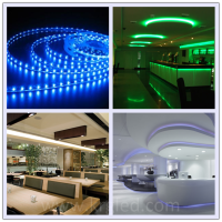 CE Rohs DC 12v 3mm wide smd high lumen 5050 smd led strip