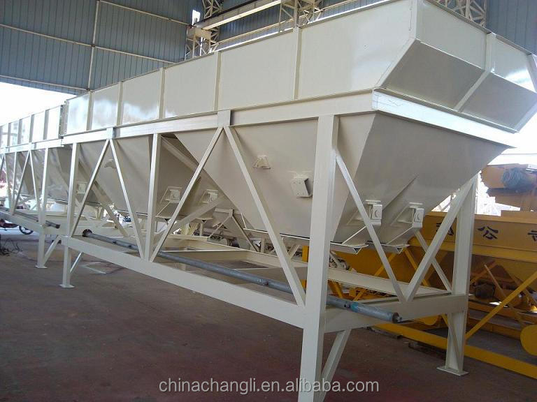 China high- quality PLD1600 good quality 1600L mini four bins aggregate batcher