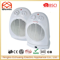 2000W Rotating Electric Room Heater