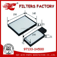 air cabin filter used for hyundai i30 CW 2.0 CRDi OEM NO.97133-1H500