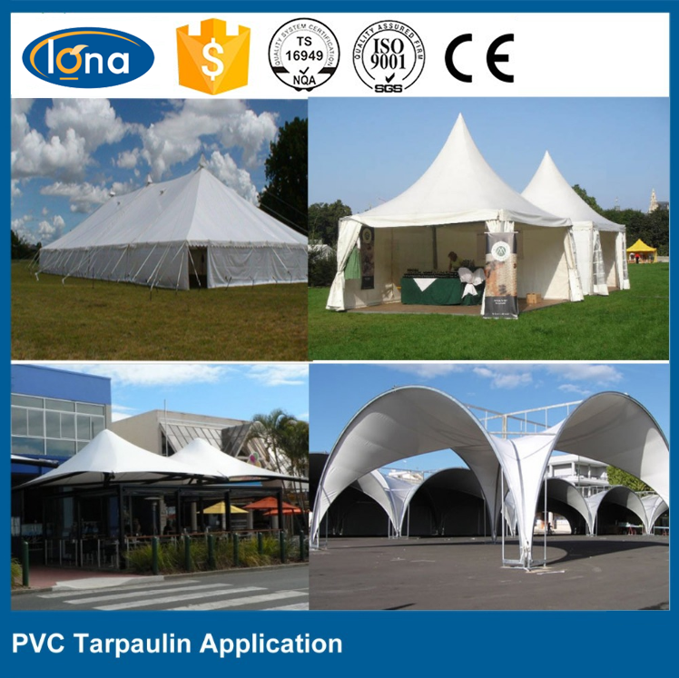 PVC Coated Tarpaulin waterproof Fabric For Truck Cover,tent,Inflatable material