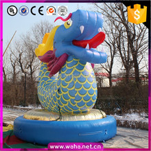 Customized inflatable dragon costume for decoration advertising