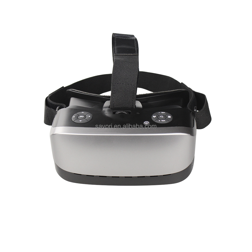 Savori OEM 2016 gray popular 3d vr all in one, 3d vr glasses virtual reality