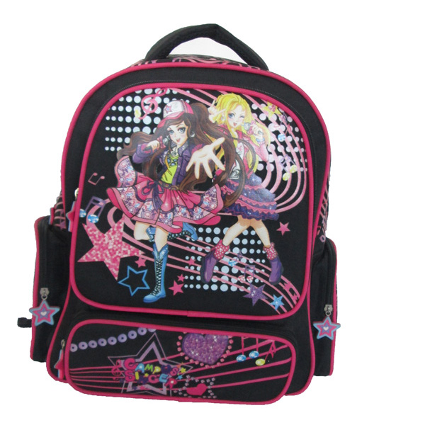 Japanese Style Carton School Bag Backpack For Young Girl