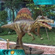 Jurassic park 3d lifesize animatronic dinosaur made in china for sale