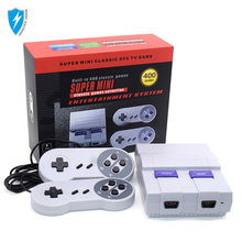 Mini game console 8 bit tv game console ingebouwde 400 games familie retro video game console