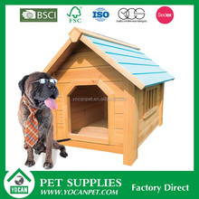 Unique design wooden large wood dog house