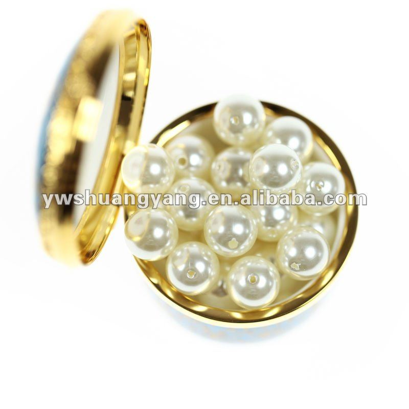 YIWU AAA quality 12 MM abs round shape plastic pearl beads