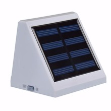 Outdoor Wall Mounted Solar Led Light Xinree SL-20A Garden Decoration 4pcs LED0.24W