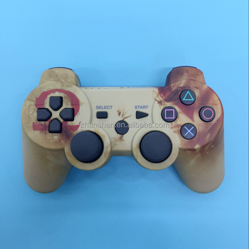 Camouflage Wireless Bluetooth Six Axis Game Controller for PS3 Joystick