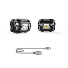 China manufacturer best usb rechargeable headlamp best tactical headlamp aluminum led coal miners headlamp