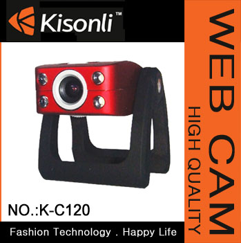 Night Vision Webcam Web Cam Camera PC Laptop with MIC & Light Control
