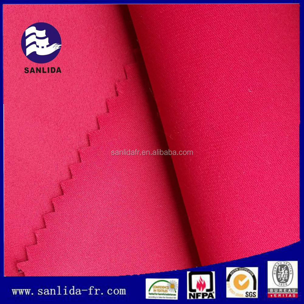High quality polyester inherently flame retardant fabric for curtain on sale