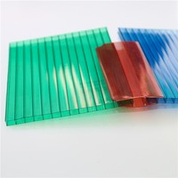 Daylighting poly carbonate sheet for car parking