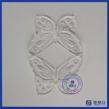 Clear butterfly shaped clear small cup cake display stand & acrylic cake stands / cake pop stand