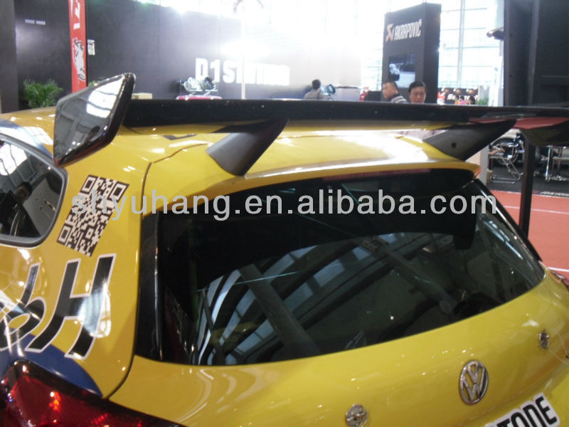 Volkswagon VW Scirocco Carbon Fiber Racing Style Rear Wing Spoiler