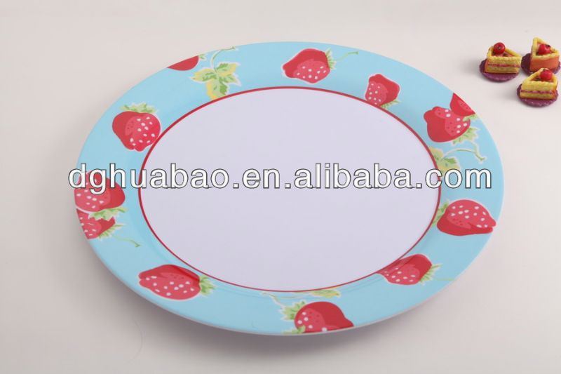 Food grade children plastic dinner sets / baby dining set / melamine dinnerware sets for kids