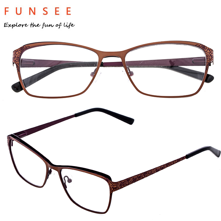 China new model metal optical frame