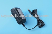 12V wall mount switching power adapter