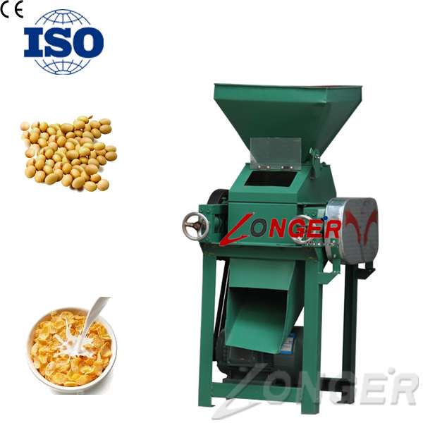 Commercial Corn Flakes Processing Machine/Oatmeal Machine/Wheat Flakes Maker