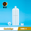 50ml 1:1 Plastic Two Component Silicone Adhesive Cartridge in Industry