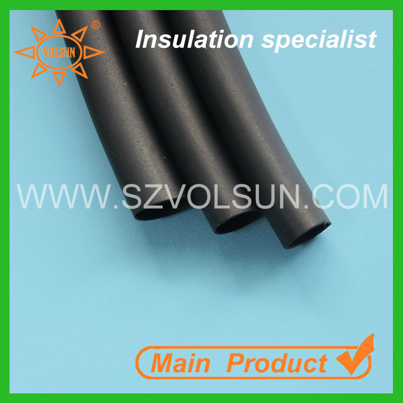 Low Voltage Insulation Black Oil Resistant Heat Shrink Tubing