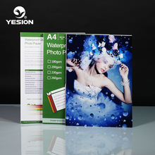 High quality cheap price Cast coated A4 Glossy Photo Paper ,200gsm,230gsm 260gsm 4R, A6, A4, A3