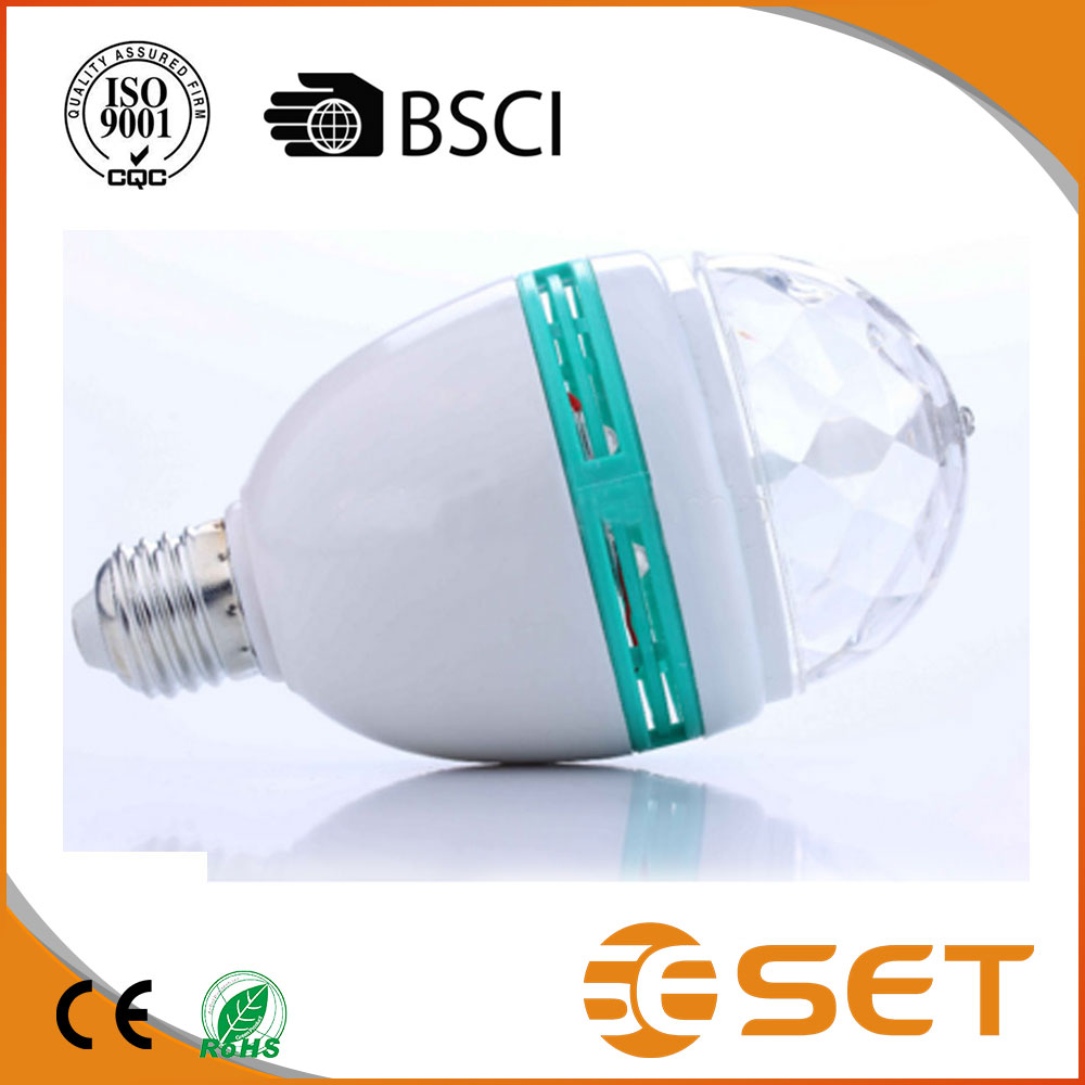 Hot sale holiday Color Changing Disco LED Light Bulbs for KTV BAR decoration