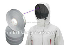 Three-ply hot air seam sealing tape for outdoor clothes