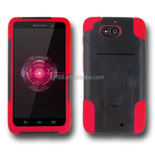 T stand robot hybrid combo kickstand cover case for LG Optimus Logic L35G