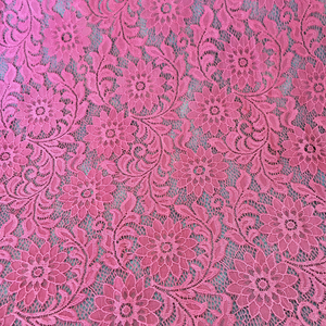 High quality hard hand cut handkerchief lace fabric