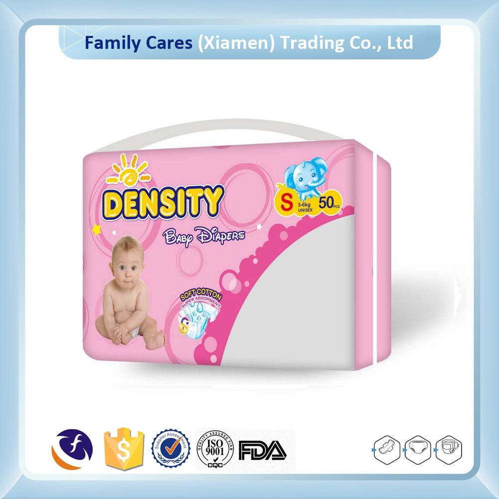 OEM high quality factory price disposable baby diaper manufacturer in China