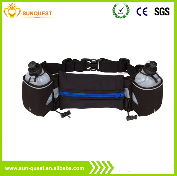 2016 Waterproof Waist Pack Reflective Private Label Hydration Running Belt