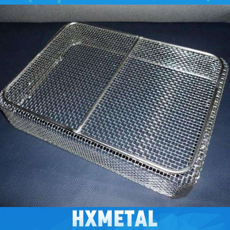 Medium Locker Metal Wire Basket