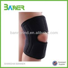 knee support with a hole