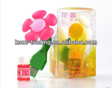 flower shape usb air freshener mini car air freshener