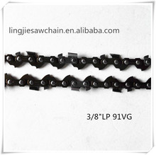 "chain saw spare parts chain cheap 3/8""LP(91VG) saw chain"