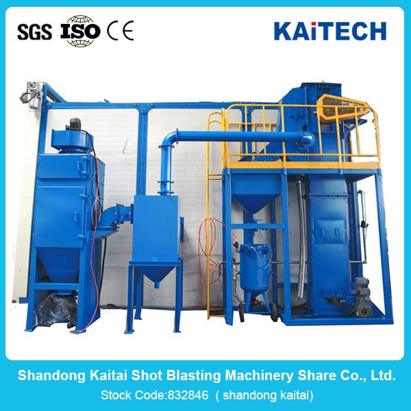 high quality gas cylinder shot blasting machine