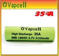 vapcell IMR 18650 3100mAh High Drain Rechargeable Li-HP battery 3.7v