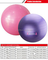 rough appearance anti-burst gym ball/new coming hot sale Bouncing ball/yoga ball with box
