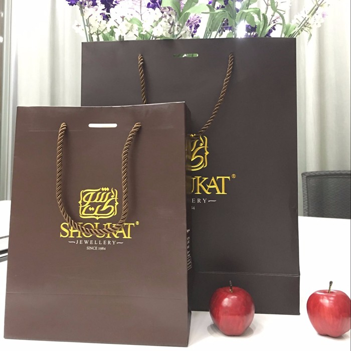 Because of you, we only do high-end:Custom Printed recycled Paper Shopping Bag,custom your exclusive logo