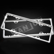 car number license plate holder lack license plate frame for USA market