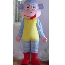 Boots Costume, funny monkey mascot costume with boots for sale