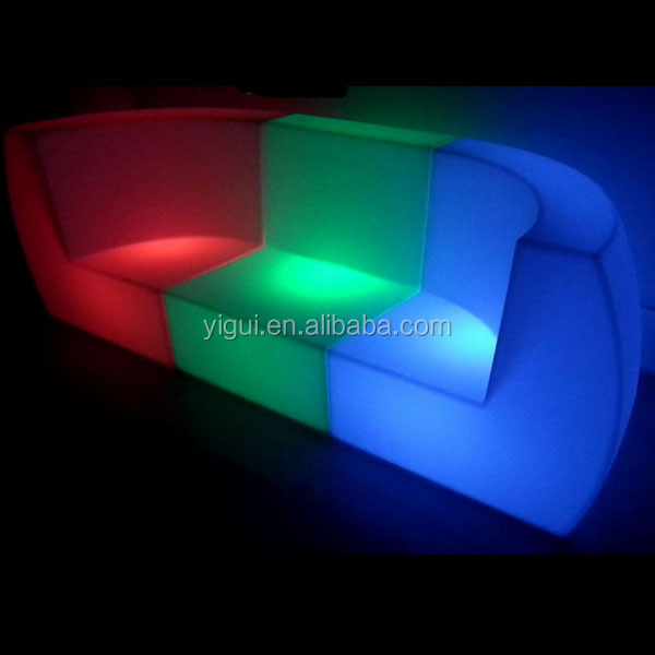 customized led sofa/ led bar table/ nightclub/ led furniture