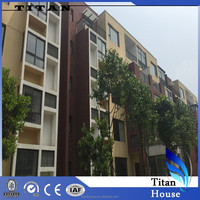 High Quality Light Steel Prefabricated Modular Apartment for Sale in Tbilisi
