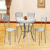Kitchen Round dining Table and 4 Chairs
