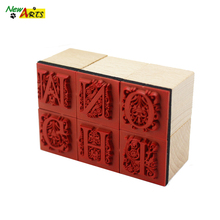 Good Quality Wooden Teacher Rubber Stamps