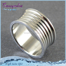 Bulk sale cheap stainless steel silver man cock ring
